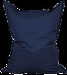 Pouf Lumaland bleu marine